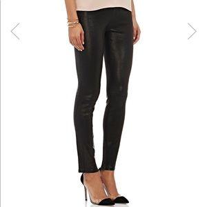 J Brand Real Leather Leggings
